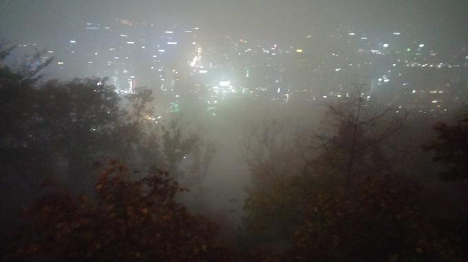 韓国。ソウルの景色 - Nソウルタワー(N Seoul Tower.)