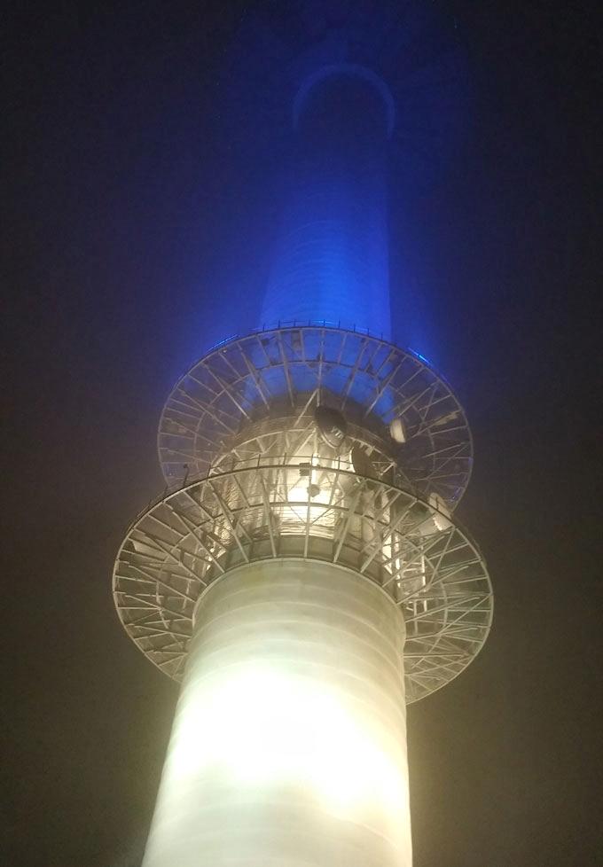 韓国。ソウル。Nソウルタワー(N Seoul Tower.)
