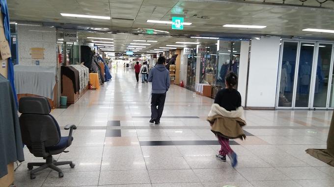 韓国。ソウル。地下街 - 国立中央博物館へ(To National Hangeul Museum.)