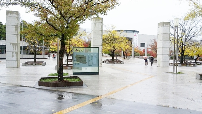韓国。ソウル。国立中央博物館へ(To National Hangeul Museum.)