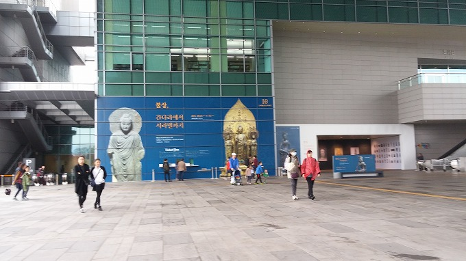 韓国。ソウル。国立中央博物館(National Hangeul Museum.)