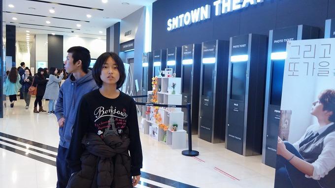 韓国。ソウル。SMTOWNシアター - SMTOWN