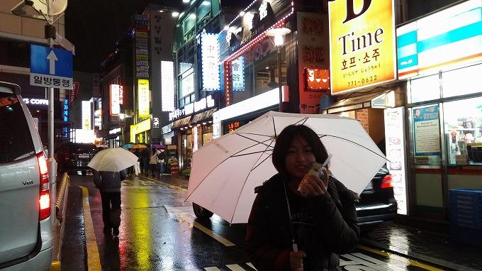 韓国。ソウル。明洞の夜(Night in Myeong-dong.)