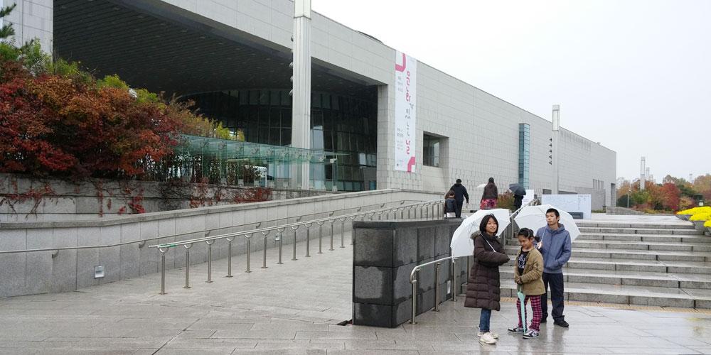 韓国ソウル。国立中央博物館(National Hangeul Museum.)