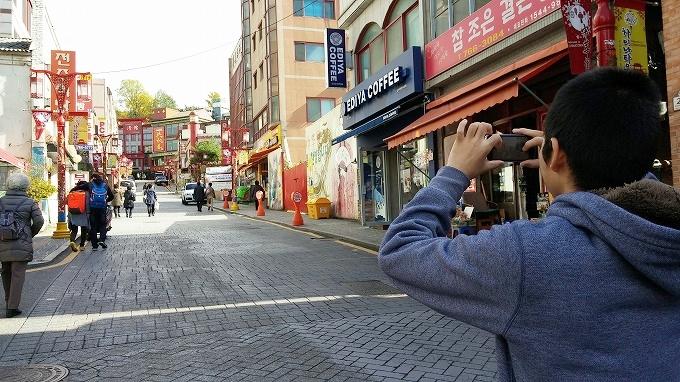 韓国。仁川中華街。(China town.)