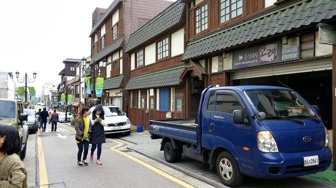 韓国。仁川歴史文化通り