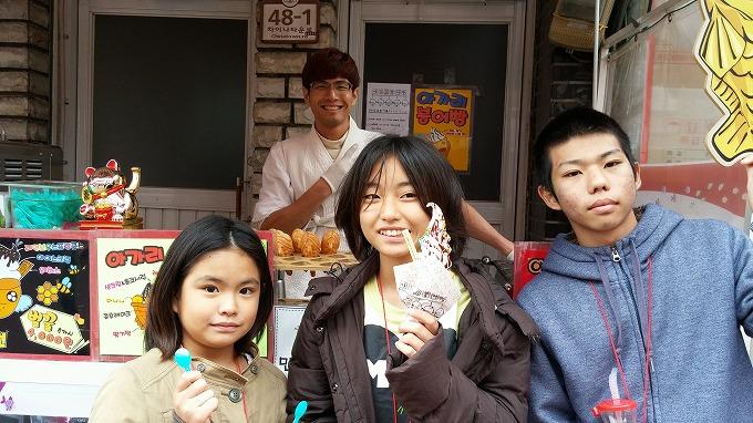 韓国。仁川中華街・買食