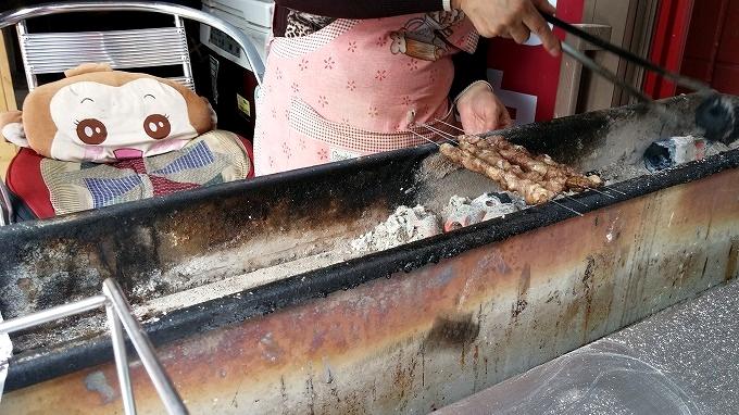 韓国。羊肉串(ヤンロウチュアン) - 仁川中華街・買食