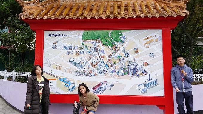 韓国。仁川中華街マップ - 仁川中華街・買食仁川中華街マップ -