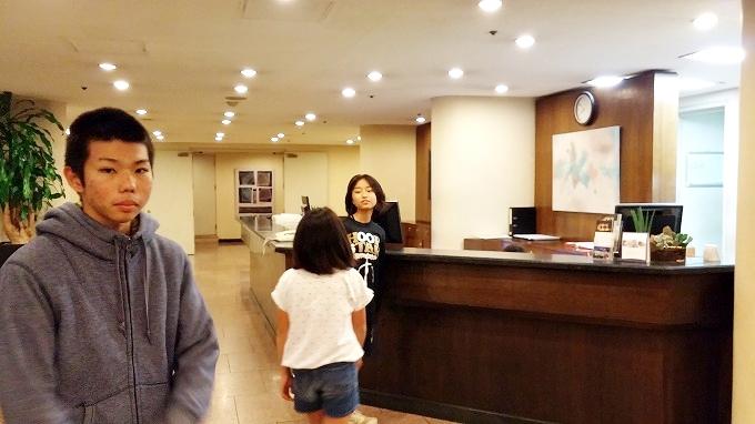 韓国。ソウル。ホテルのフロント - ザ・グランドスイート(The Grand Suite Seoul.)