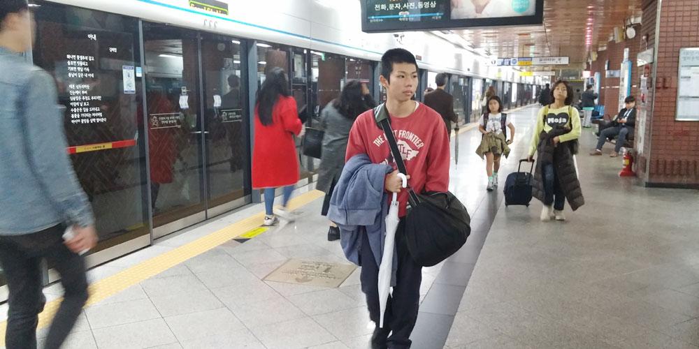 仁川中華街へ(To China town.)