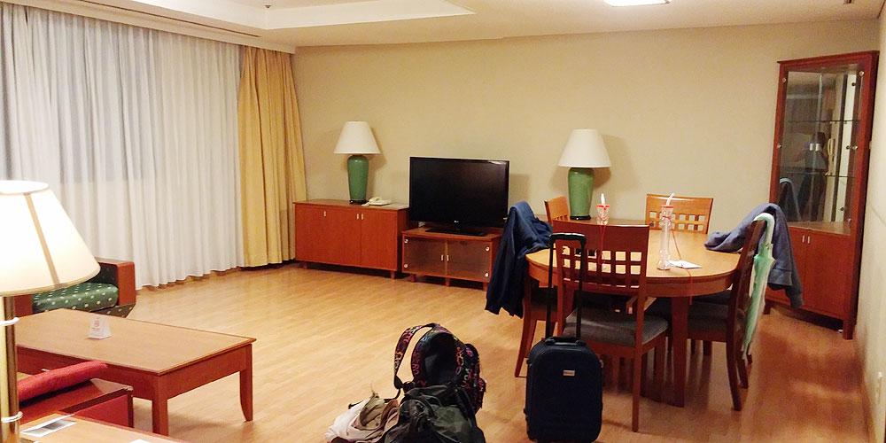韓国ソウル。リビングルーム - ザ・グランドスイート(The Grand Suite Seoul.)