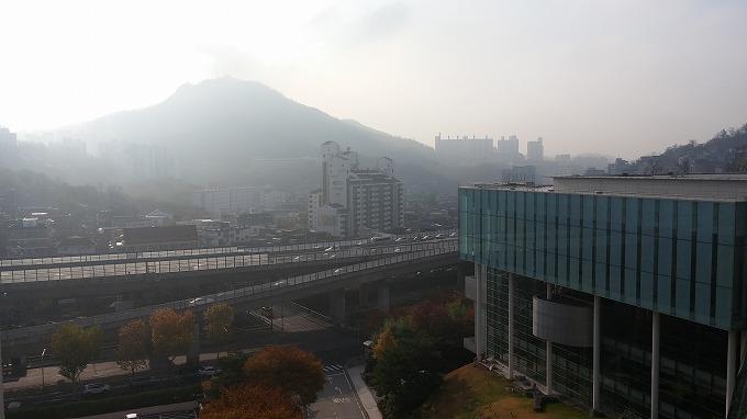 韓国。ソウル。ソウルの街の景色 - グランド ヒルトン ソウル(Grand Hilton Seoul)