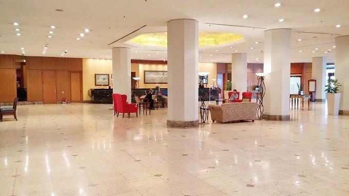 韓国。ソウル。ロビーラウンジ - グランド ヒルトン ソウル(Grand Hilton Seoul)