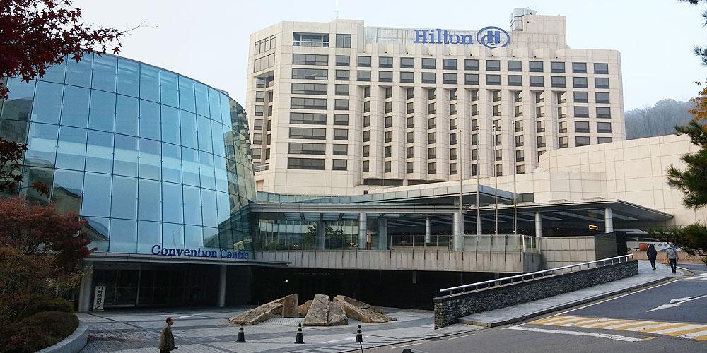 韓国ソウル。グランド ヒルトン ソウル(Grand Hilton Seoul)