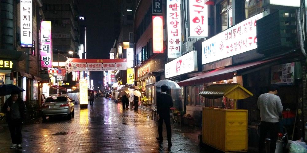 韓国ソウル(Seoul)焼き肉stopover