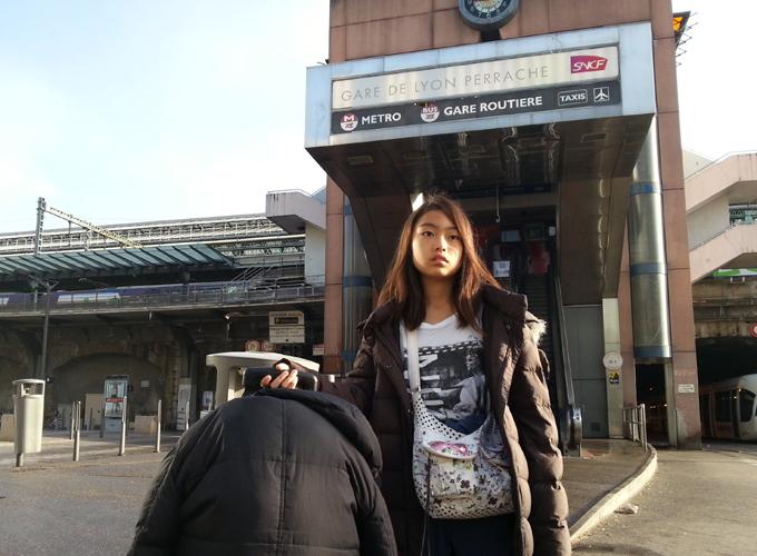 フランス・リヨン。リヨン・ペラーシュ駅(Gare de Lyon Perrache)