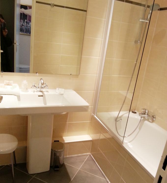 フランス・リオン。バスルーム