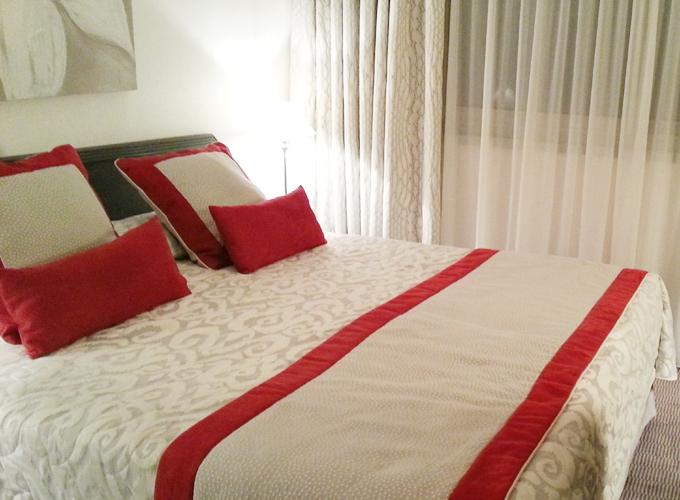 フランス・リオン。ベッドルーム