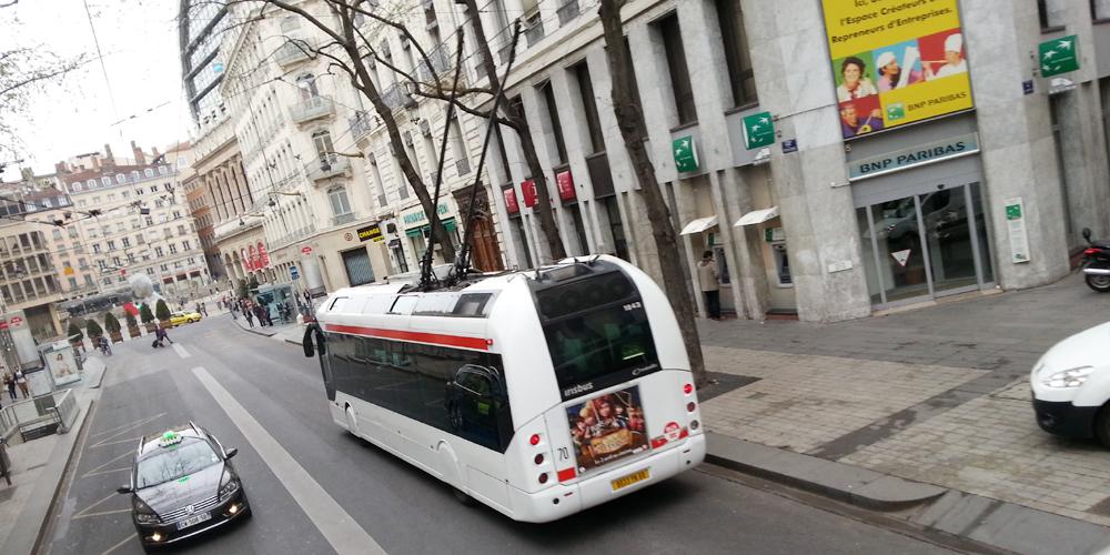 Lyon city tour, France.