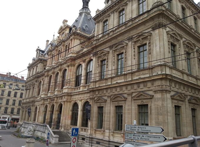 フランス・リオン。I feel the ancient city.