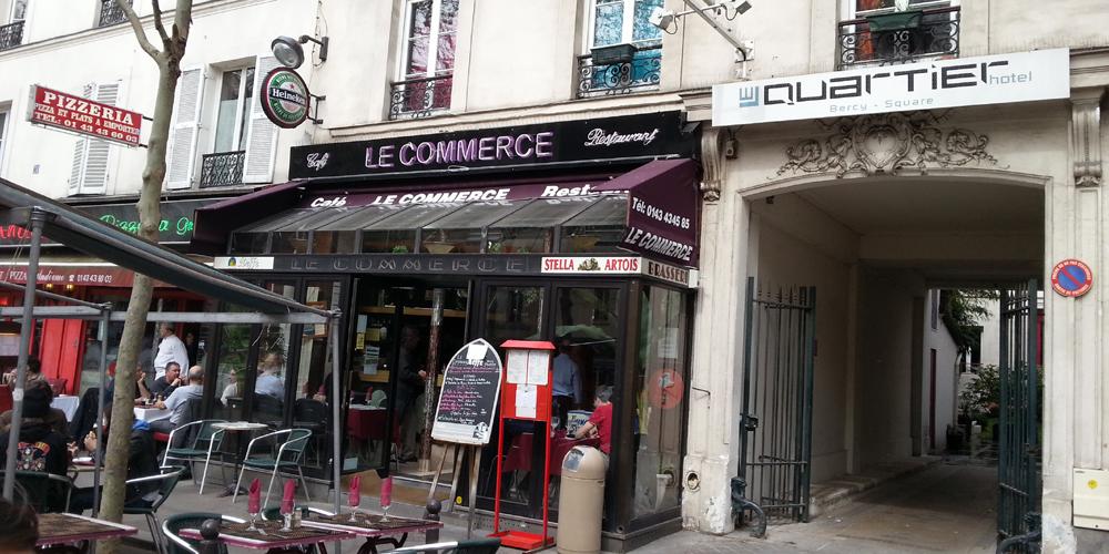 Le Quartier Bercy-Square Paris, France.
