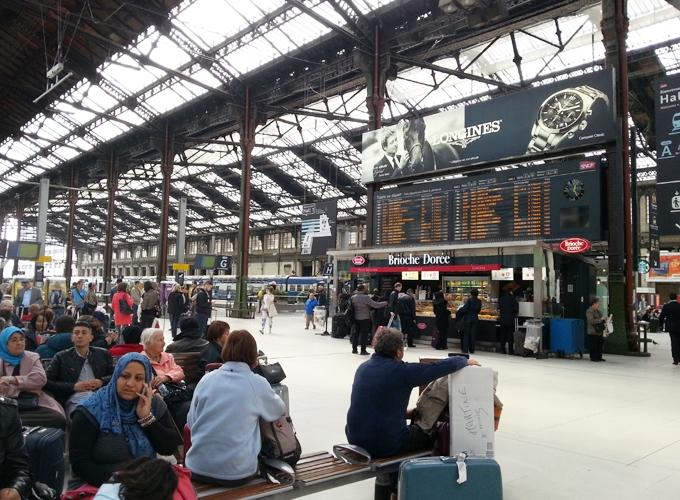 フランス・パリ。リヨン駅(Gare de Lyon)