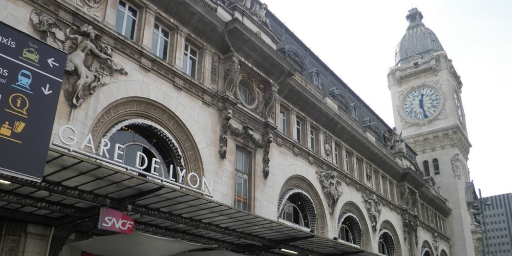 Gare de Lyon Paris, France.