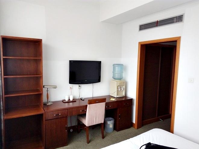 中国 上海外国語大学・上外迎賓館・627号室。