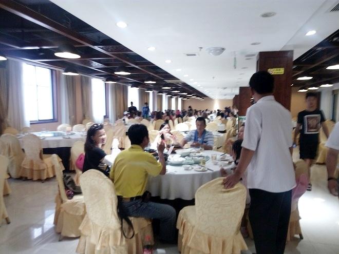 中国 杭州。杭州・中華の昼食。