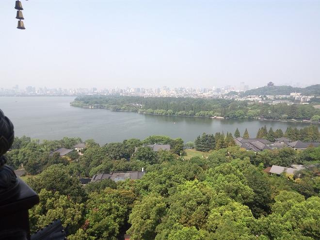 中華人民共和国・杭州西湖・雷峰塔(Pagoda)。