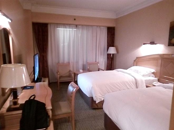 中国・杭州。杭州・ホテル浙江賛成賓館。