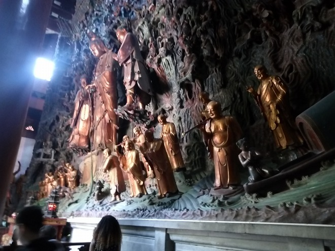 中国・浙江省 杭州市。霊隠寺。