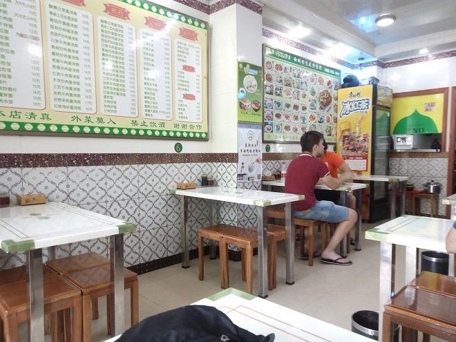 中国 上海外国語大学留学。虹口・ハラルのお店。