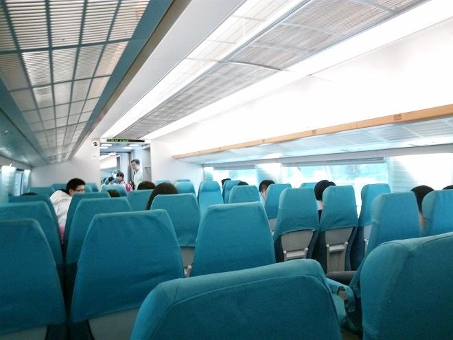 中華人民共和国 上海。マグレブ(磁浮列車)