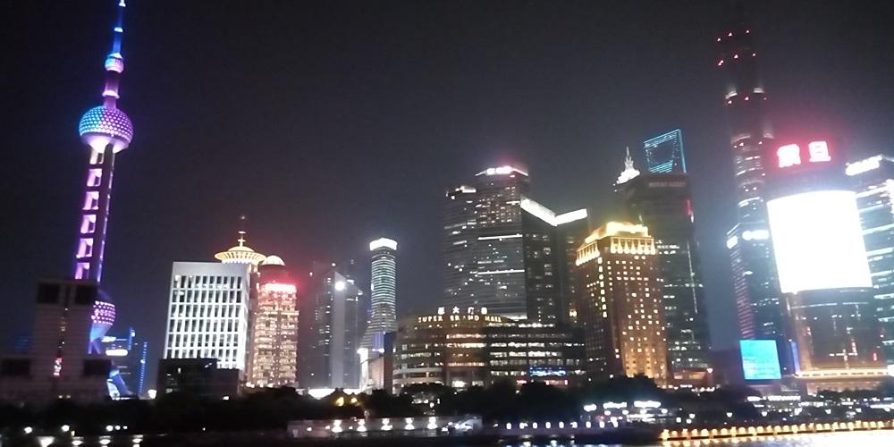 中国上海 外灘ナイトクルージング