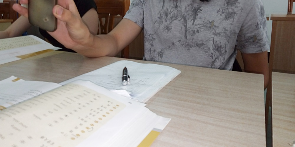 中国 上海外国語大学留学。虹口。中国語留学・クラス