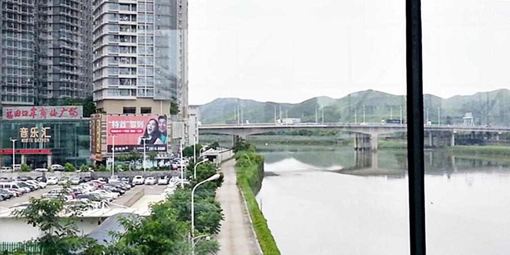 Lok Ma Chau, Hong Kong.