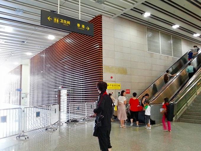 中華人民共和国 広東省・深セン 福田区。深セン→香港1(Shenzhen, China)