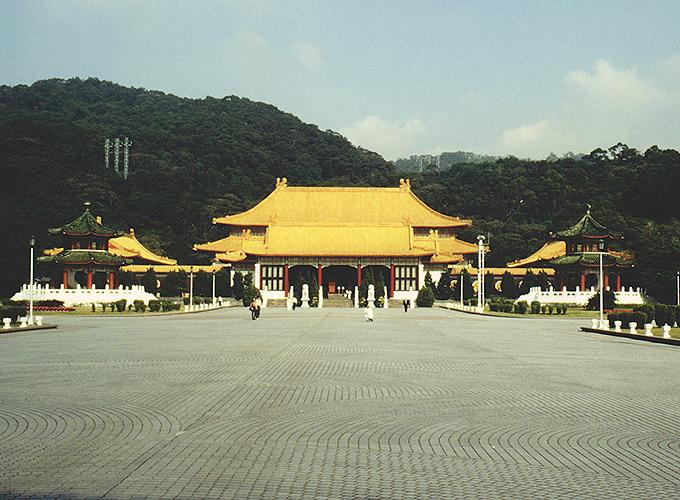 台湾・台北旅行。Martyrs Shrine.