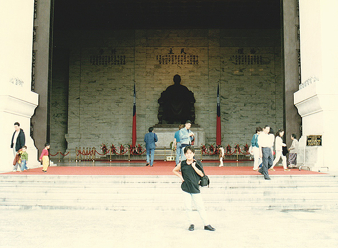 台湾・台北旅行。National Chiang Kai-shek Memorial Hall.