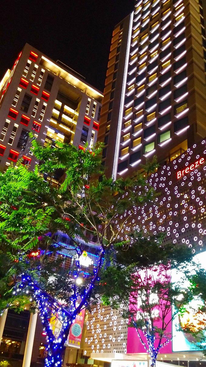 台湾、台北。信義区の高層ビル群
