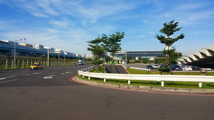 台湾 桃園国際空港 外