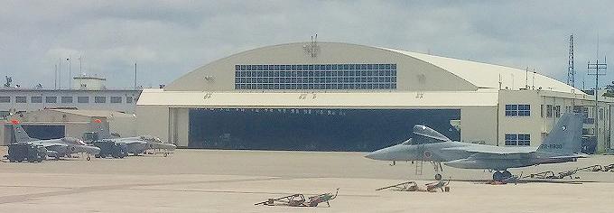 那覇空港の戦闘機