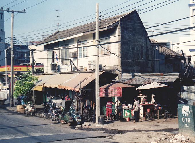 タイ王国・バンコク。Street View.