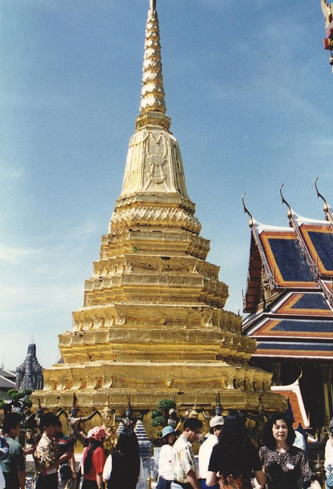 タイ王国・バンコク。Temple in Bangkok.