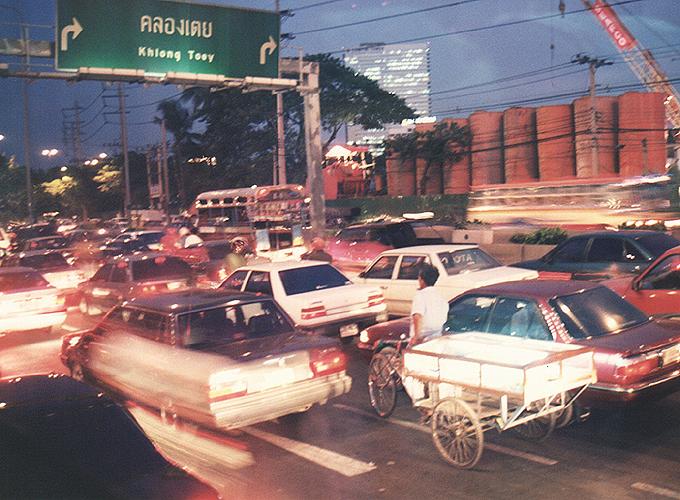 タイ王国・バンコク。on the way.