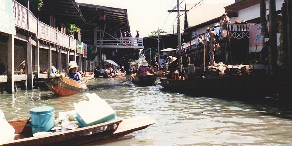Damnoen Saduak, thailand.