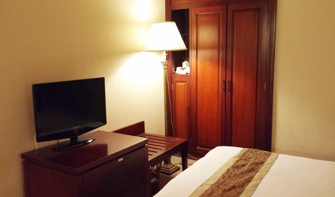 ベトナム・ホーチミン市。ホテルの室内