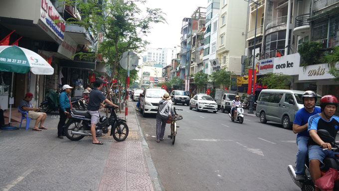 ベトナム・ホーチミン市。ベンタインの街を歩く(Walk around in Ben Thanh area.)